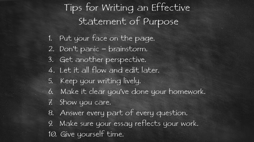 Writing my first Statement of Purpose – Student Guide